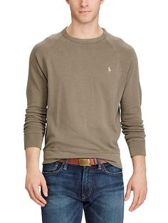 Cotton Spa Terry Sweatshirt - Polo Ralph Lauren Sweatshirts - RalphLauren.com