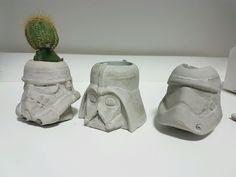 Kit Vasos StarWars de cimento