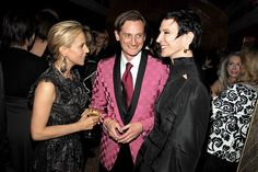 Tory Burch, Hamish Bowles and Amy Fine Collins