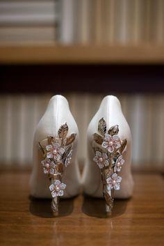 Ornate Wedding Shoes