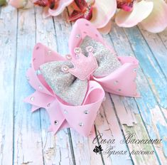 Ribbon Hair Bows, Bow Hair Clips, Cutest Babies Ever, Handmade Hair Accessories, Girls Bows, Lilo And Stitch, Baby Headbands, Hair Pieces, Diy And Crafts