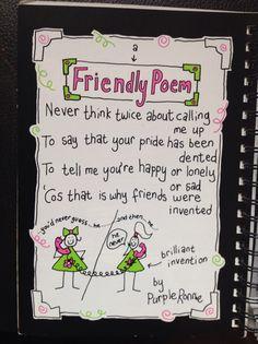 Friendly Poem