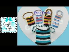 Craft Life Purse Tutorial on One Rainbow Loom - YouTube