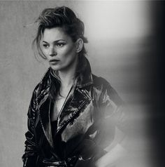 * Kate Moss by Peter Lindbergh in Vogue Italia
