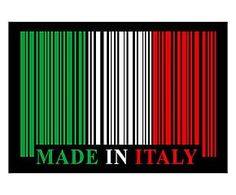 Tappetino antiscivolo in poliestere Italy - 52x75 cm