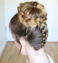 15 Best Dutch Braid Hairstyles to Keep You Trendy in Braided Hairstyles Updo, Bun Hairstyles For Long Hair, Trending Hairstyles, Bride Hairstyles, Bun Updo, Updo Hairstyle, Pretty Hairstyles, French Twist Hair, Up Dos