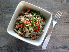 Riisi-kanasalaatti | Gurmee.net