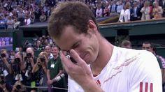 Andy Murray's Emotional Post-Match Wimbledon Video - ESPN
