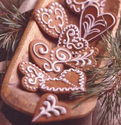 sweden christmas cookies | Christmas Cookies from Around the World | Cookies by Design Blog