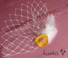 woalka ślubna handmade by kurka