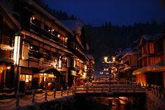Ginzan Onsen, Yamagata  山形の銀山温泉