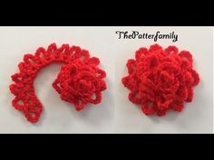 How to Crochet a Flower Pattern #65│by ThePatterfamily
