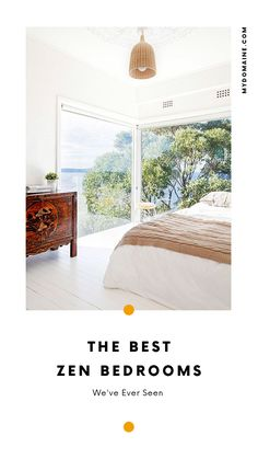 10 of the most downright blissful, zen bedrooms we've ever seen.