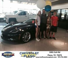 https://flic.kr/p/KbdyPz   Happy Anniversary to Scott  on your #Chevrolet #Corvette from Pamela Profitt at Huffines Chevrolet Plano   deliverymaxx.com/DealerReviews.aspx?DealerCode=NMCL
