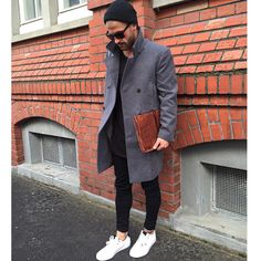 "Influencer | Style Icon on Instagram: ""cold germany. Love my grey coat _______ #kostawilliams #winter"""