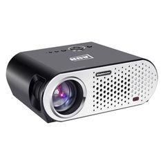 AUN 3200 Lumens 1280x768 LED Projector Multimedia Player for Home Theater Meeting Office (can 200 inches large screen) with HDMI Cable 3D Glasses