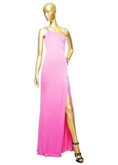 Asymetric Long Dress by Versace