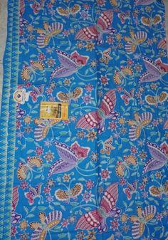 Kain batik Cibulan 278-Biru