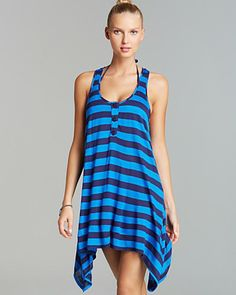 439d19ee587bf Bloomingdale's. Swimsuit Cover UpsVacation OutfitsResort WearMarcelWomen  SwimsuitsBlue ...