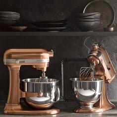 artisan kitchenaid copper ♥