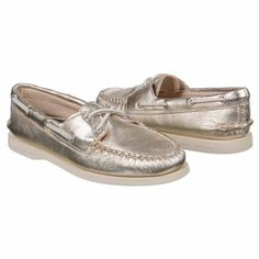 Sperry Top-Sider A/O 2-Eye Shoes (Platinum) - Women's Shoes - 8.5 M