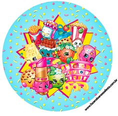 Shopkins: Free Printable Wrappers and Toppers for Cupcakes. Shopkins Art, Shopkins Bday, First Birthday Parties, First Birthdays, Birthday Ideas, Shopkins Happy Places, Shopkins And Shoppies, Unisex Baby Shower, Moose Toys