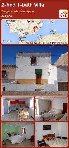 2-bed 1-bath Villa in Zurgena, Almeria, Spain ►€42,000 #PropertyForSaleInSpain