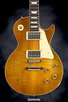 Gibson Custom True Historic 1960 Les Paul Reissue - Vintage Lemon Burst | Sweetwater.com