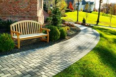 Holland stone paver pattern for patio