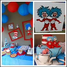 Dr suess party.