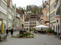 Feldkirch, Austria Feldkirch, Small Castles, Old Buildings, Salzburg, Pedestrian, Homeland, Travel Around, Old Town, Austria