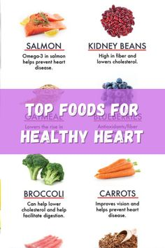 Top Foods For Healthy Heart . #LiveHealthy #Health #HealthyFoods #HeartAttack #HeartFoods #Health #Tips Healthy Life, Healthy Living, Kidney Beans, Lower Cholesterol, Heart Attack, Superfoods, Carrots, Salmon, Healthy Recipes
