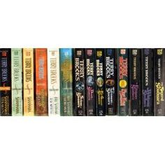 Shannara Collection by Terry Brooks. These are a definite read for the sci-fi fan.