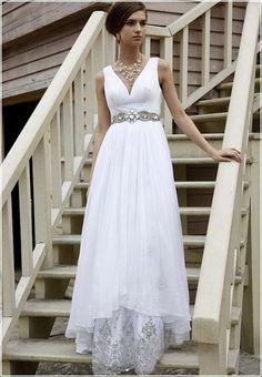 Greek Goddess Wedding Dress from Etsy seller Bliss Butterfly