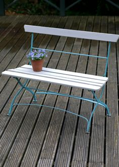 Vintage Garden Bench Perfect For 2