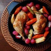 Γευστικά και υγιεινά: Κοτόπουλο στον φούρνο με λαχανικά!