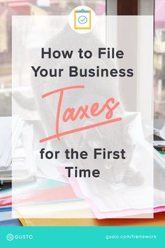 business finance How to File Small Business Taxes Checklist with Andi Smiles answers all your questions before you file your taxes. Small Business Start Up, Writing A Business Plan, Starting A Business, Business Planning, Business Tips, Online Business, Business Meme, Business Motivation, House Ideas