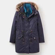 I just discovered this while shopping on Poshmark: Joules Wyndfall Navy 3-in-1 Parka Style Coat   NWT. Check it out!  Size: 12