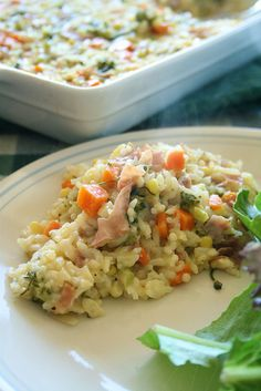 A comforting casserole to get you through the week. If you don't have one of the veggies listed, simply use what you have in the fridge. This recipe serves 4. What you'll need: 2 tablespoons butt...