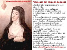 #Promesas del Sagrado Corazón de Jesús