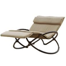 Delano Double Orbital Lounger with Cushion Set Home Depot Canada