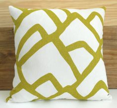 have always loved this fabric! // schumacher zimba pillow