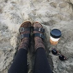 socks + birks