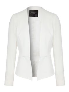Available at Jane Norman Peplum Blazer £50.00  Give your work look a sophisticated make-over with this classic peplum blazer. Team with a figure hugging pencil skirt, your best heels and bold lippy for stand out office style.