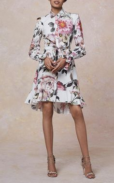Women/'s High Low Tie Knot Hem Chiné Manches Courtes Jersey Shift Long Midi Robe
