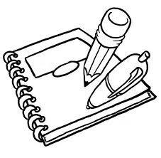 Imagenes Animadas De Utiles Escolares Para Colorear Dibujos Para