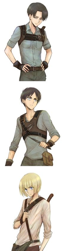 AOT/Maze Runner why do anime look so sexy in casual looking clothes. Even Armin looks hot