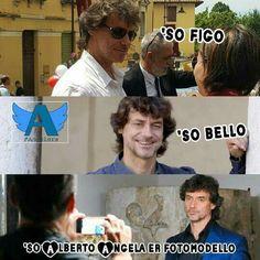 Meme di @errico2111 sul gruppo fb Angelers - Fan di Alberto Angela