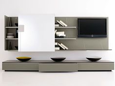 Search all products, brands and retailers of TV Wall Systems: discover prices, catalogues and new features Wall Storage Systems, Modular Storage, Italia Design, Kairo, Living Room Designs, Living Rooms, Dining Area, Ikea, Shelves