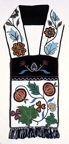 Ojibwe bandolier bag - Created: not later than 1911.